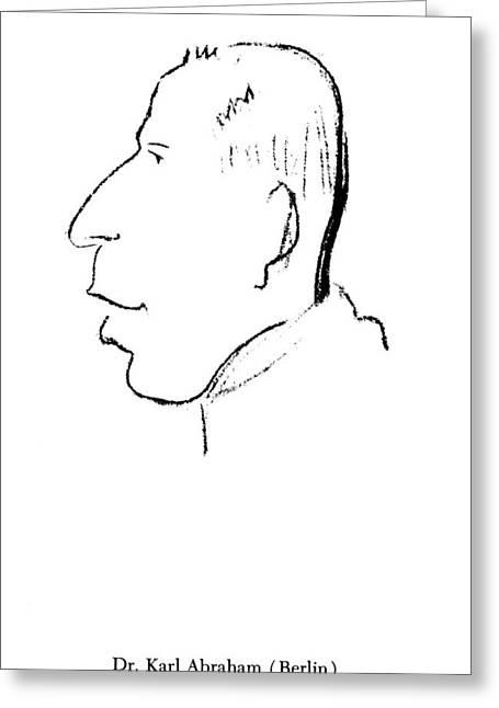 Karl Abraham (1877-1925) Greeting Card