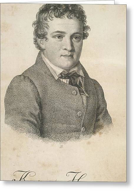 Kaspar Hauser Greeting Card