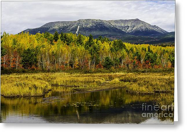 Katahdin Baxter State Park Maine Greeting Card