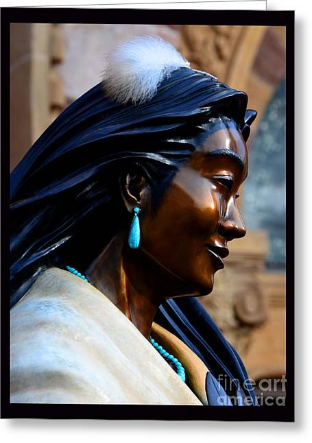 Kateri Tekakwitha Greeting Card