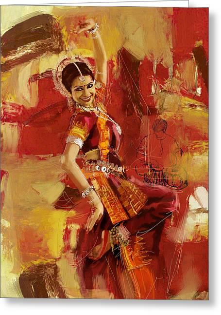 Kathak Dancer 6 Greeting Card