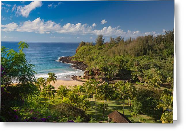 Kauai Allerton Estate Greeting Card by Sam Amato