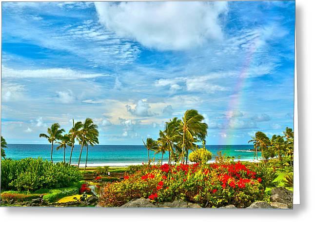 Kauai Bliss Greeting Card