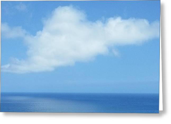 Greeting Card featuring the photograph Kauai Blue by Joseph J Stevens
