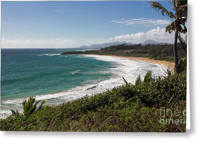 Kauai Surf Greeting Card
