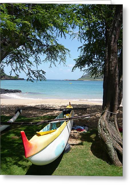 Kauai Watersports Greeting Card