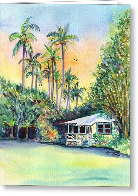 Kauai West Side Cottage Greeting Card