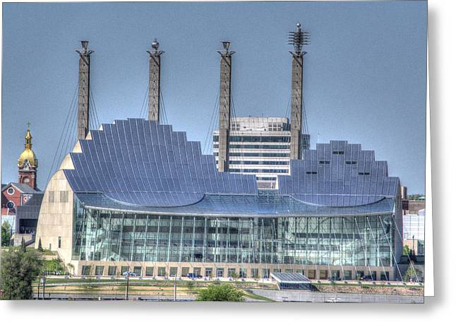 Kauffman Performing Arts Center Greeting Card