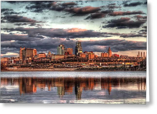 Kaw Point Greeting Card