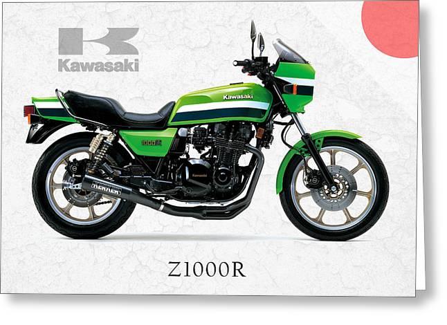 Kawasaki Z1000r 1982 Greeting Card
