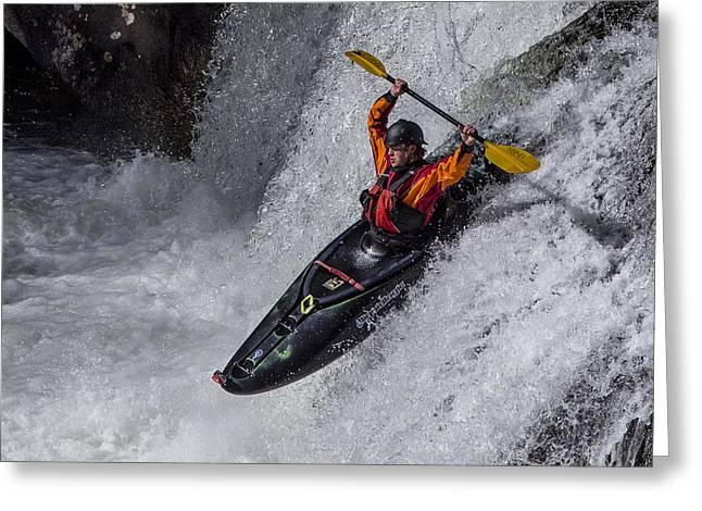 Kayaker Greeting Card