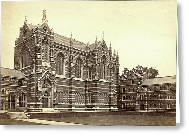 Keble College Chapel, Oxford Uk, Francis Frith Greeting Card