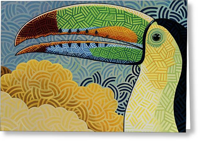 Keel-billed Toucan Greeting Card by Nathan Miller