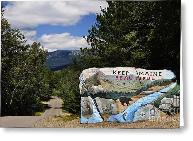 Keep Maine Beautiful Greeting Card