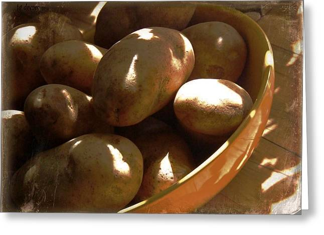 Keep Your Potatoes Greeting Card by Tg Devore