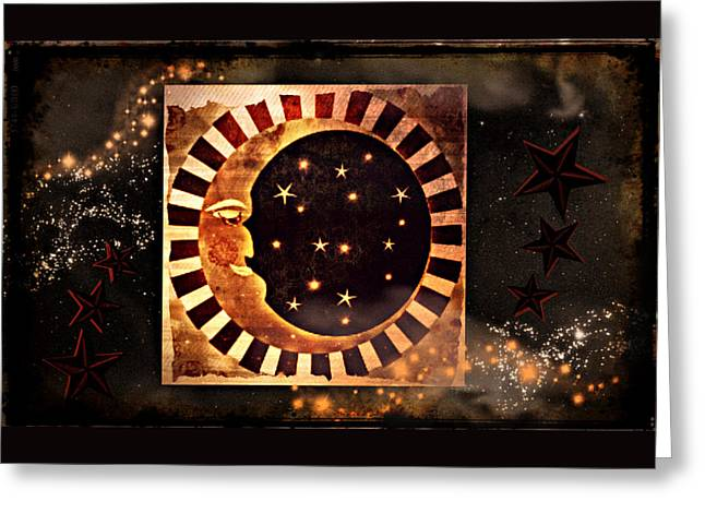 Keeper Of The Stars Greeting Card