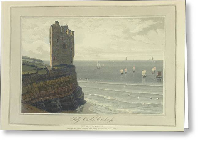 Keiss Castle In Caithness Greeting Card