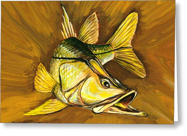 Kelly B's Snook Greeting Card