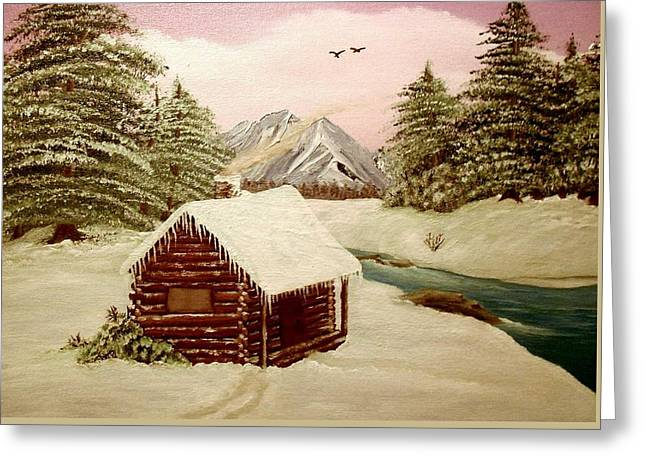 Kelly's Retreat Greeting Card by Sheri Keith