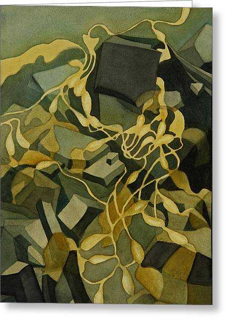Kelp-on-the-rocks Greeting Card by Anne Havard
