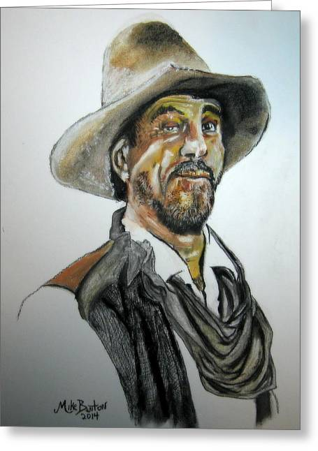 Ken Curtis As Festus Greeting Card