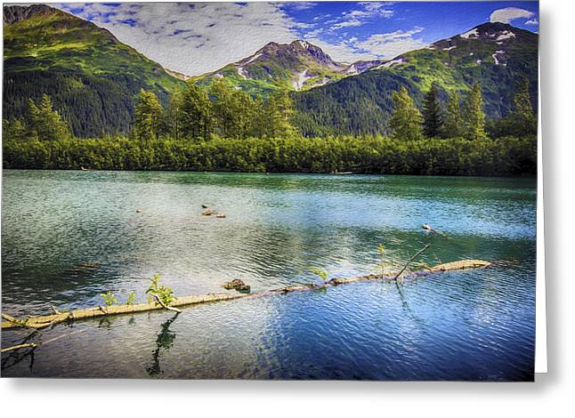 Kenai Alaska Lake Greeting Card