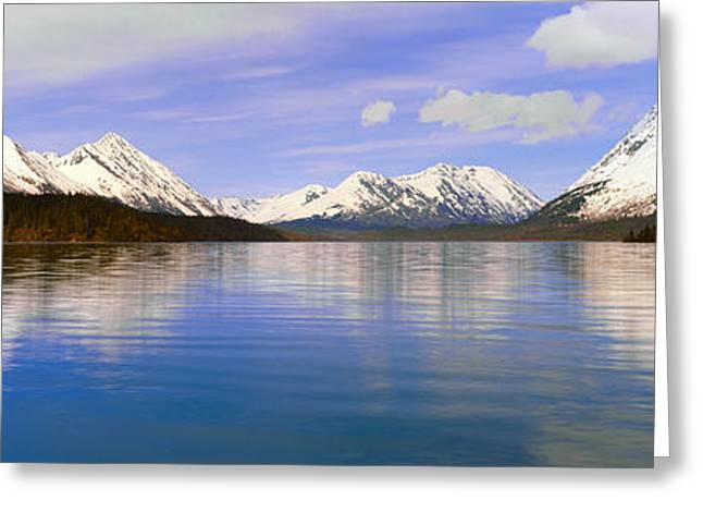 Kenai Lake, Kenai Peninsula, Alaska Greeting Card by Panoramic Images