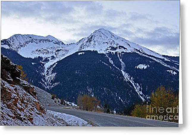 Kendall Mountain Morning Greeting Card