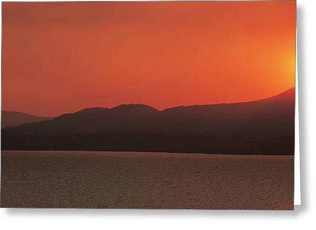Kenmare River At Sunset Ireland Greeting Card by Panoramic Images