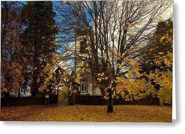 Greeting Card featuring the photograph Kenmore Church by Stephen Taylor