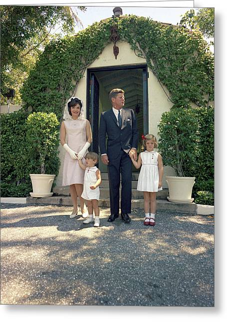 Kennedy Family, 1963 Greeting Card by Granger