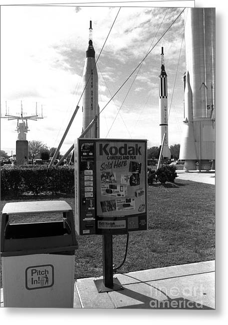 Kennedy Space Center Cape Canaveral Greeting Card by Edward Fielding
