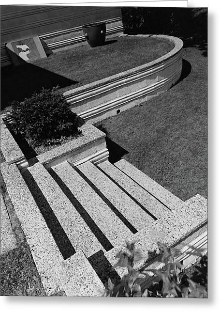 Kenneth Kassler's Garden Greeting Card by Robert M. Damora