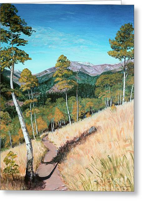 Kenosha Pass - Colrado Trail Greeting Card