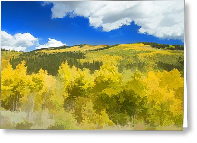 Kenosha Pass Colors Greeting Card