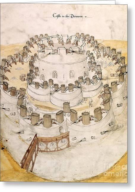 Kent Artillery Fort, 16th Century Greeting Card