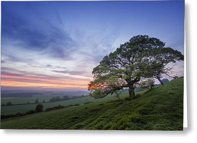 Kent Countryside Greeting Card by Ian Hufton