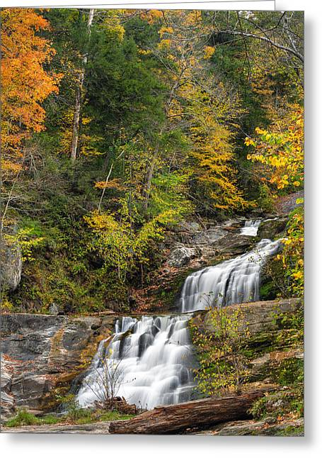 Kent Falls Autumn Greeting Card by Bill Wakeley