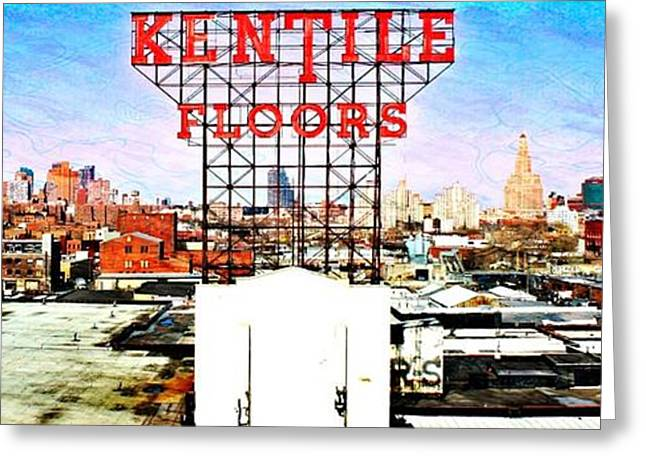 Kentile Floors Greeting Card