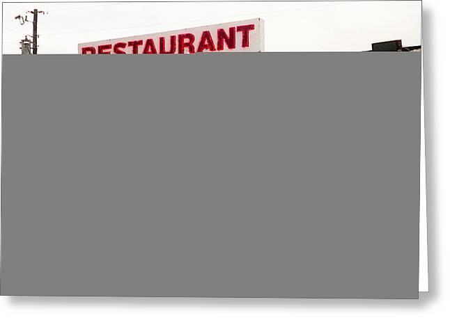 Kentucky Restaurant Greeting Card by Chris Fender