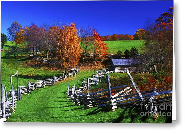 Kentucky Settlement Greeting Card by Paul W Faust -  Impressions of Light