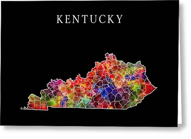 Kentucky State Greeting Card
