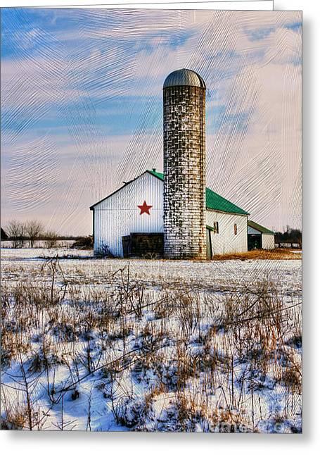Kentucky Winter Greeting Card by Darren Fisher