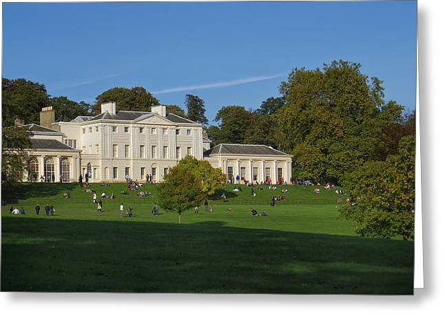 Kenwood House Hamstead Heathouse Greeting Card by Carol Ailles