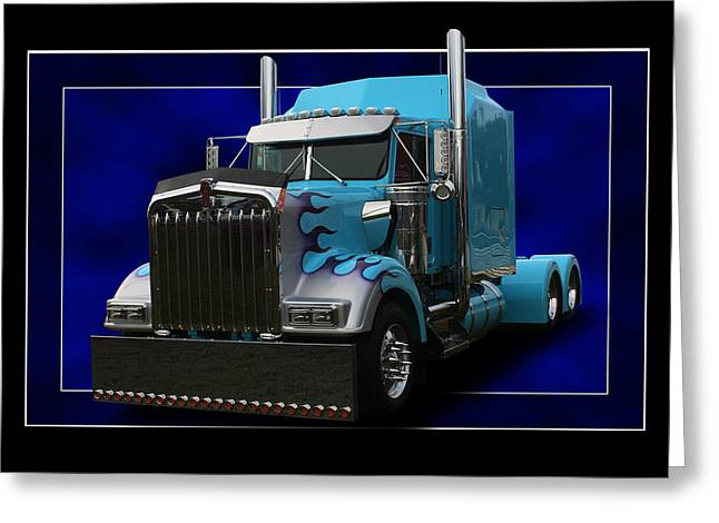 Kenworth Customised Greeting Card