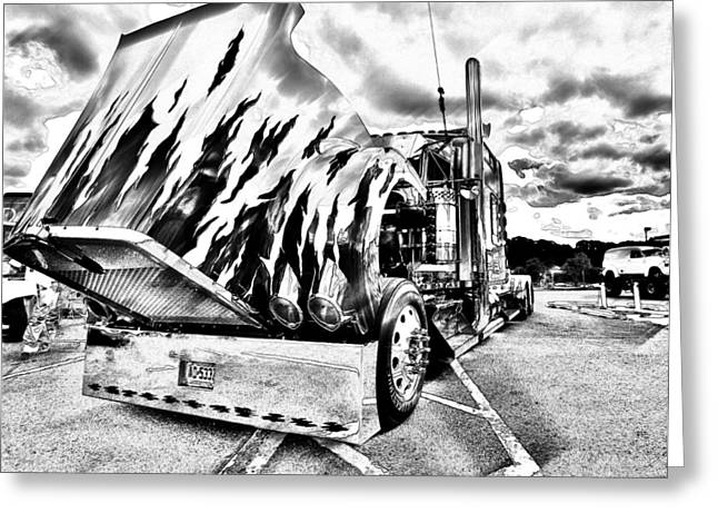 Kenworth Rig Greeting Card
