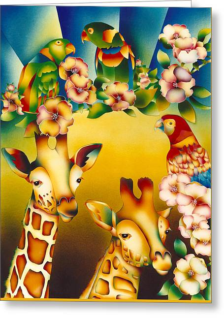 Kenya Kingdom Greeting Card