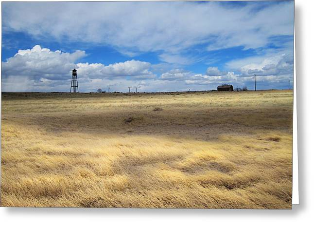 Keota Colorado Greeting Card by Ric Soulen