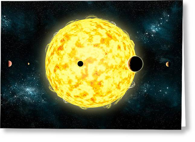 Kepler 444 Greeting Card