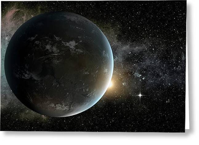 Kepler-62f Greeting Card by Nasa/ames/jpl-caltech